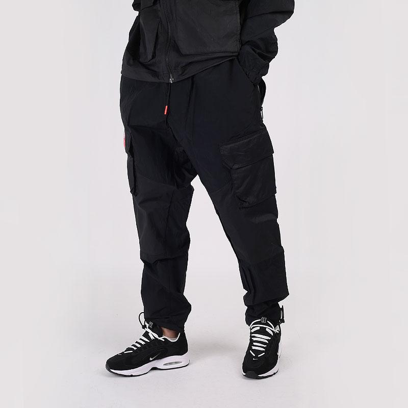 мужские черные  брюки jordan 23 engineered cargo trousers CK9167-010 - цена, описание, фото 1