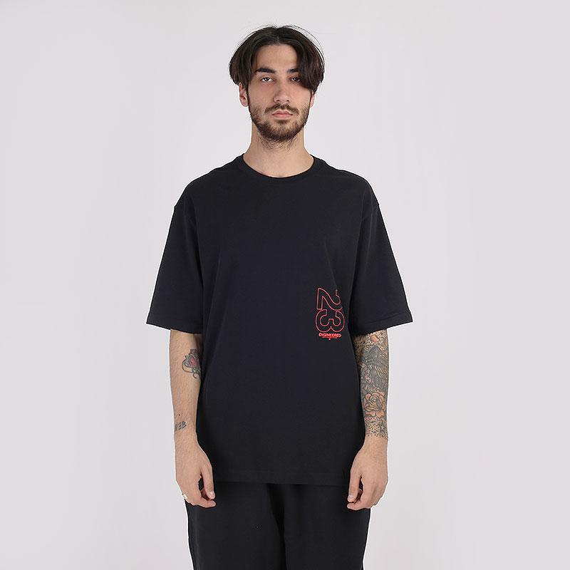 мужскую черную  футболка jordan 23 engineered short-sleeve crew CN3103-010 - цена, описание, фото 1