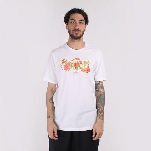 мужскую белую  футболка nike dri-fit elite CV1032-100 - цена, описание, фото 1