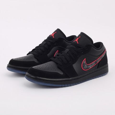 мужские черные  кроссовки jordan 1 low se CK3022-006 - цена, описание, фото 9