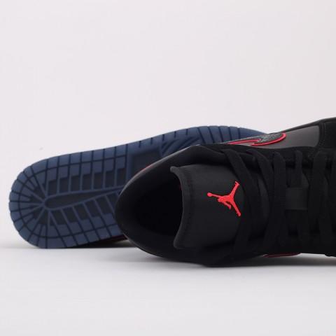 мужские черные  кроссовки jordan 1 low se CK3022-006 - цена, описание, фото 8