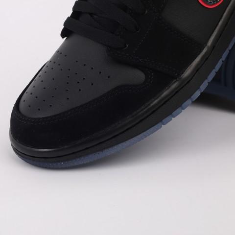 мужские черные  кроссовки jordan 1 low se CK3022-006 - цена, описание, фото 5