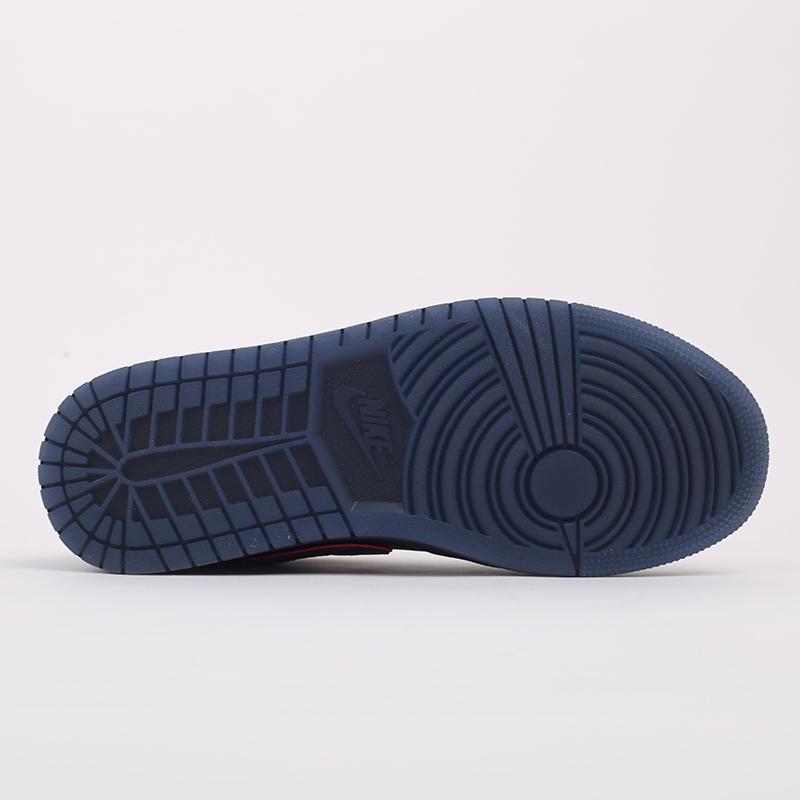 мужские черные  кроссовки jordan 1 low se CK3022-006 - цена, описание, фото 4