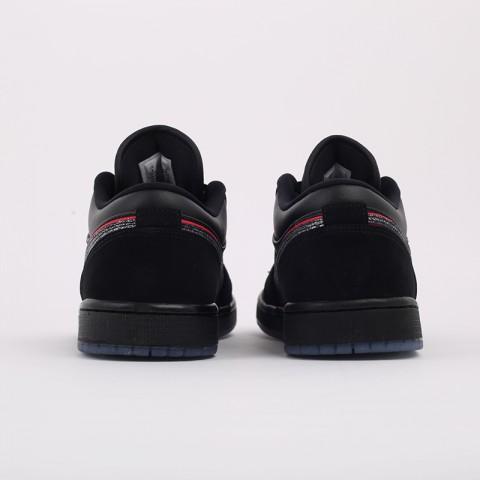 мужские черные  кроссовки jordan 1 low se CK3022-006 - цена, описание, фото 3