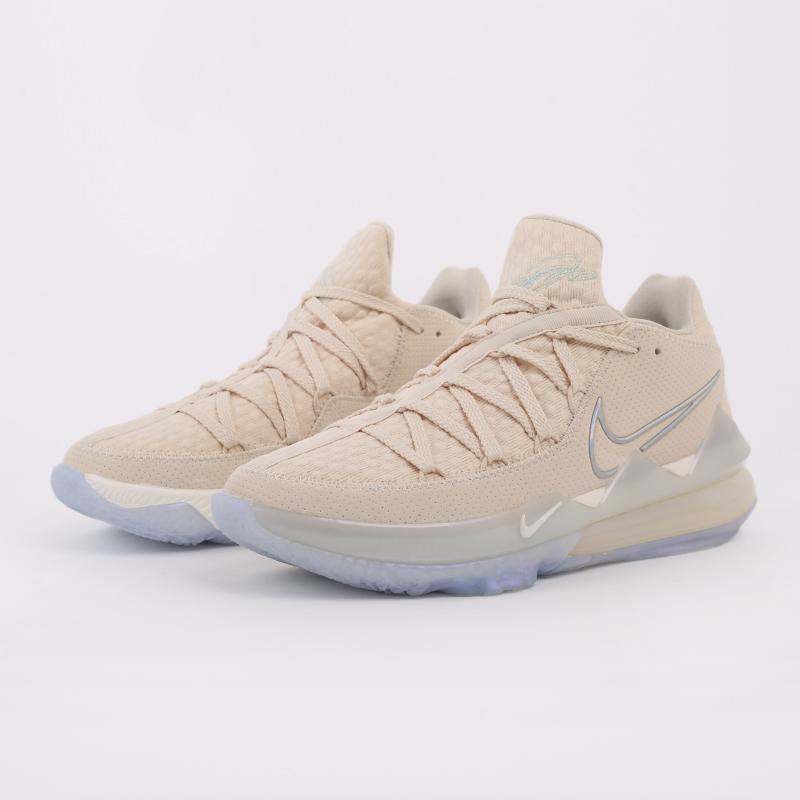 мужские бежевые  кроссовки nike lebron xvii low CD5007-200 - цена, описание, фото 9