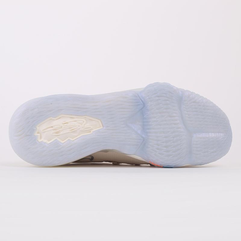 мужские бежевые  кроссовки nike lebron xvii low CD5007-200 - цена, описание, фото 5