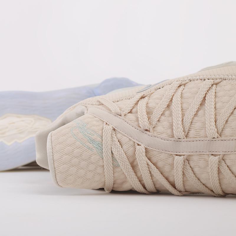 мужские бежевые  кроссовки nike lebron xvii low CD5007-200 - цена, описание, фото 7