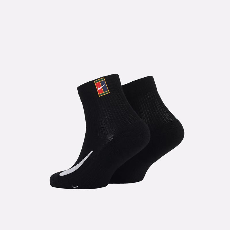 мужские черные  носки nike multiplier CU1309-010 - цена, описание, фото 2