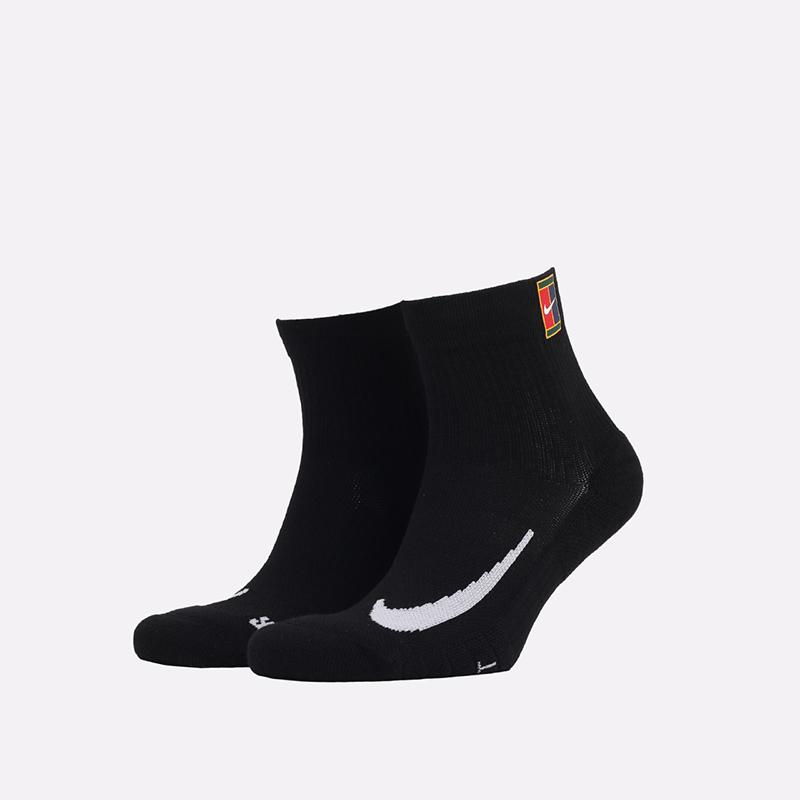 мужские черные  носки nike multiplier CU1309-010 - цена, описание, фото 1