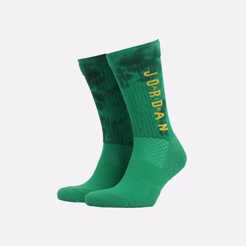 мужские зелёные  носки jordan legacy crew sport dna SK0028-310 - цена, описание, фото 1
