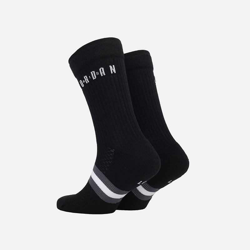 мужские черные  носки jordan legacy crew SK0025-010 - цена, описание, фото 2