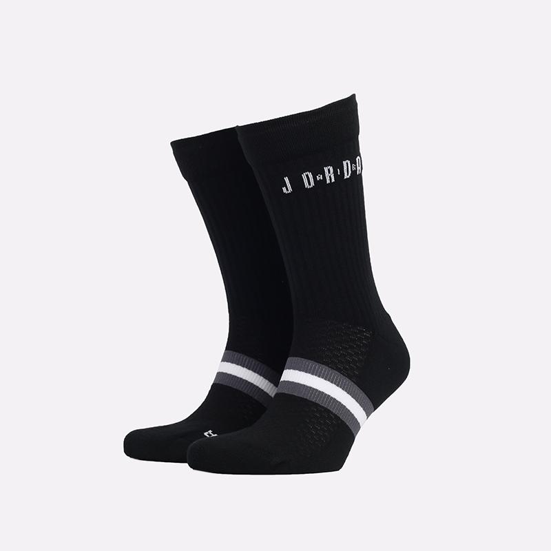 мужские черные  носки jordan legacy crew SK0025-010 - цена, описание, фото 1