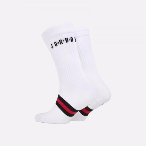 мужские белые  носки jordan legacy crew SK0025-100 - цена, описание, фото 2