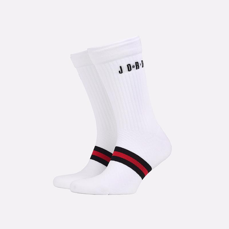 мужские белые  носки jordan legacy crew SK0025-100 - цена, описание, фото 1