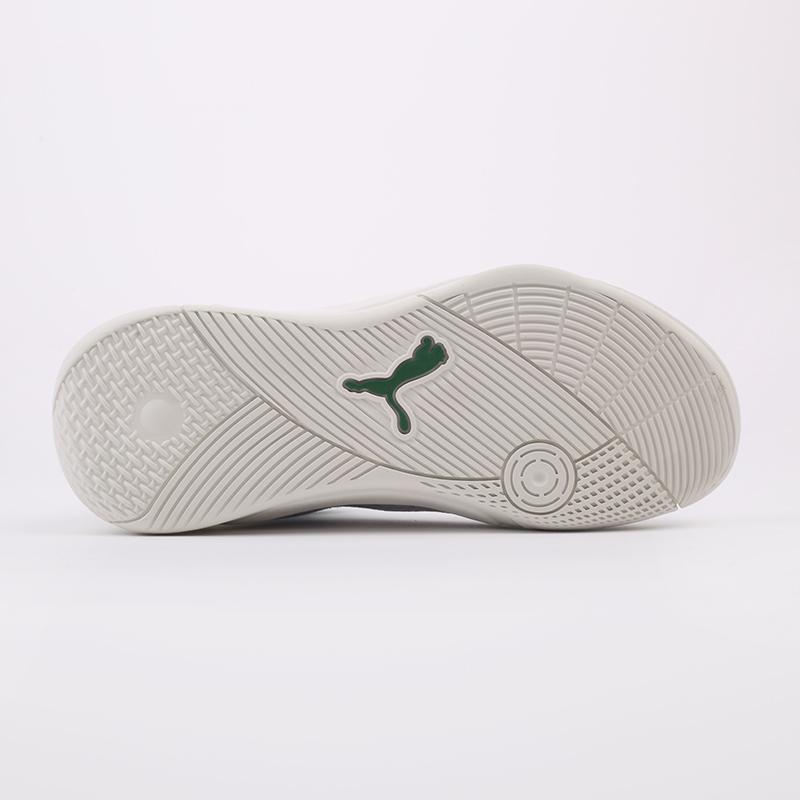 мужские белые, зелёные  кроссовки puma sky modern 19404202 - цена, описание, фото 7