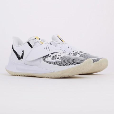 мужские белые  кроссовки nike kyrie low 3 CJ1286-100 - цена, описание, фото 2