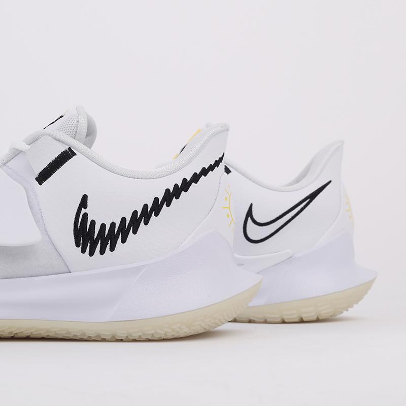 мужские белые  кроссовки nike kyrie low 3 CJ1286-100 - цена, описание, фото 6