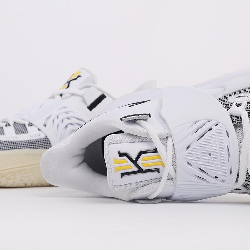 мужские белые  кроссовки nike kyrie low 3 CJ1286-100 - цена, описание, фото 7