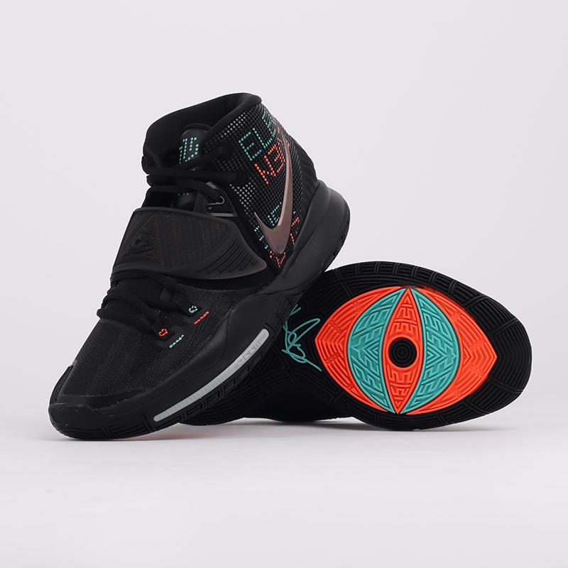 мужские черные  кроссовки nike kyrie 6 BQ4630-006 - цена, описание, фото 5