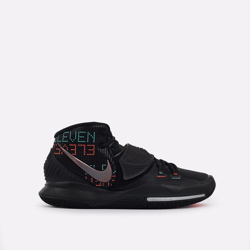 мужские черные  кроссовки nike kyrie 6 BQ4630-006 - цена, описание, фото 1