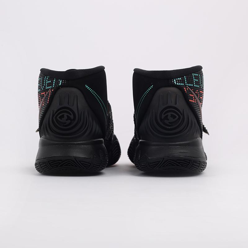 мужские черные  кроссовки nike kyrie 6 BQ4630-006 - цена, описание, фото 3