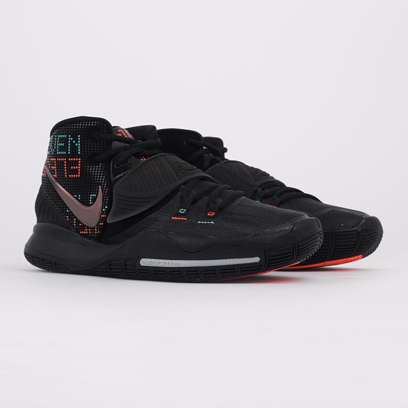 мужские черные  кроссовки nike kyrie 6 BQ4630-006 - цена, описание, фото 2
