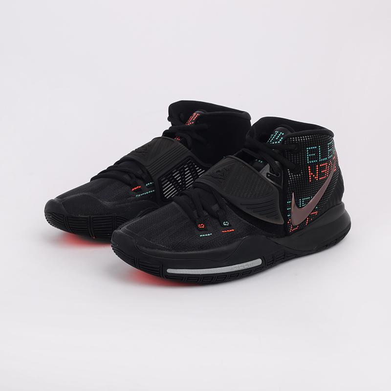 мужские черные  кроссовки nike kyrie 6 BQ4630-006 - цена, описание, фото 6
