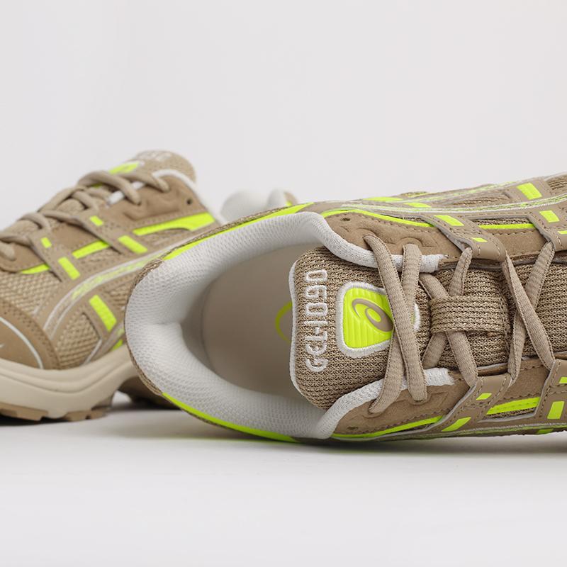мужские бежевые  кроссовки asics gel-1090 1201A040-201 - цена, описание, фото 6