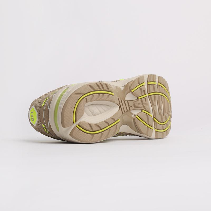мужские бежевые  кроссовки asics gel-1090 1201A040-201 - цена, описание, фото 8