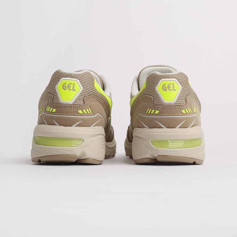 мужские бежевые  кроссовки asics gel-1090 1201A040-201 - цена, описание, фото 4