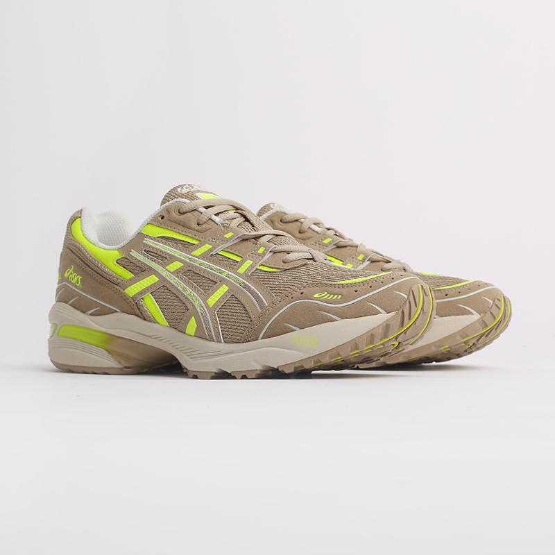 мужские бежевые  кроссовки asics gel-1090 1201A040-201 - цена, описание, фото 2