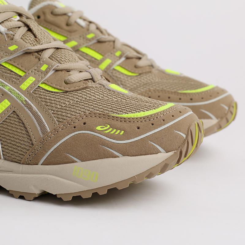 мужские бежевые  кроссовки asics gel-1090 1201A040-201 - цена, описание, фото 3