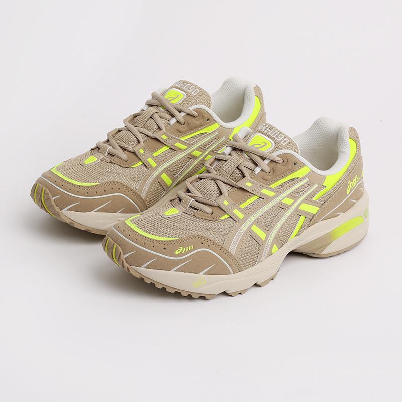 мужские бежевые  кроссовки asics gel-1090 1201A040-201 - цена, описание, фото 7