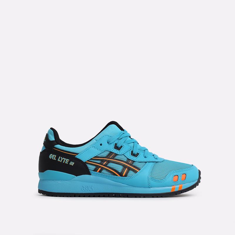 синие  кроссовки asics gel lyte iii og 1201A052-400 - цена, описание, фото 1