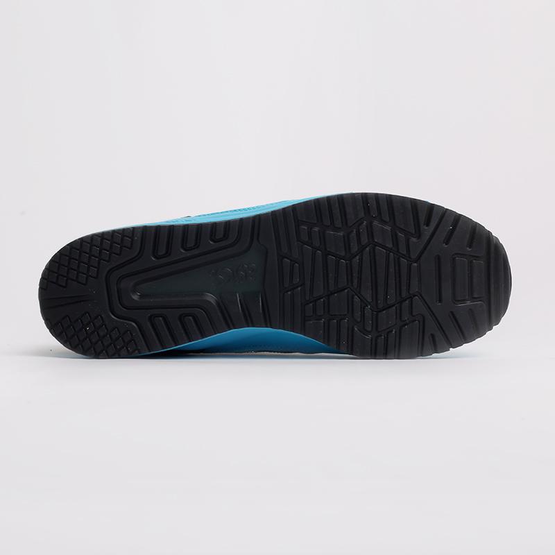 синие  кроссовки asics gel lyte iii og 1201A052-400 - цена, описание, фото 8
