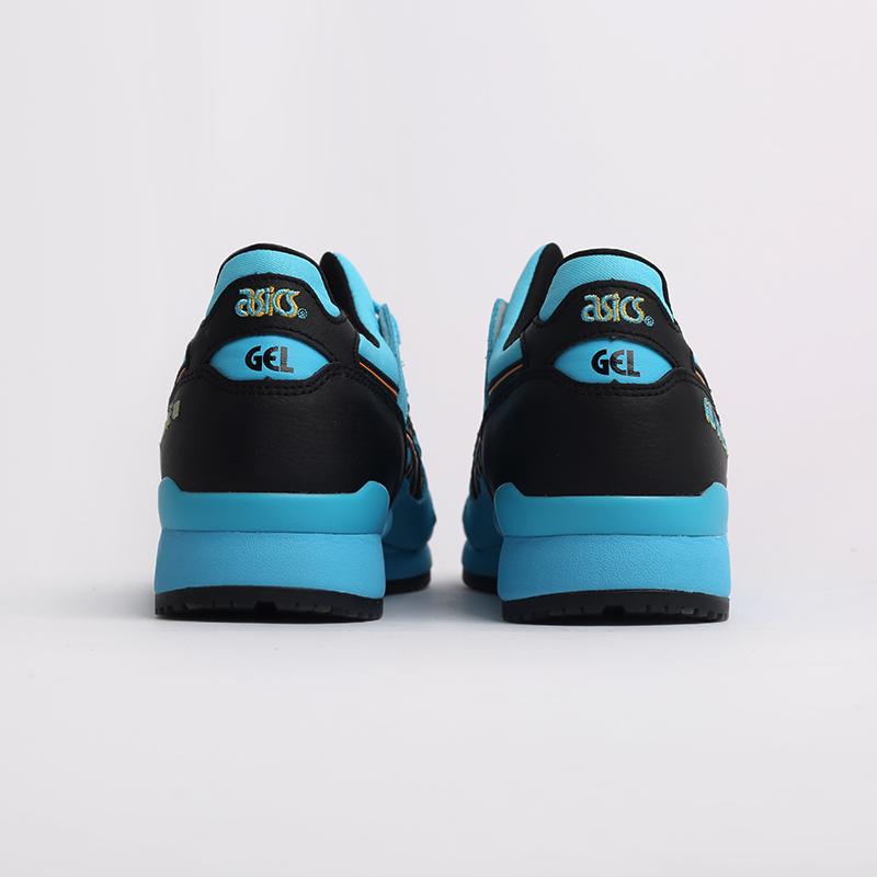 синие  кроссовки asics gel lyte iii og 1201A052-400 - цена, описание, фото 4