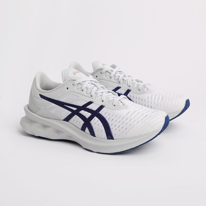 мужские белые  кроссовки asics novablast sps 1201A032-020 - цена, описание, фото 2