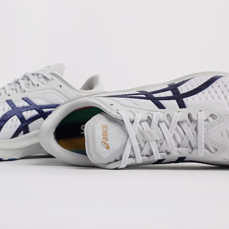 мужские белые  кроссовки asics novablast sps 1201A032-020 - цена, описание, фото 5