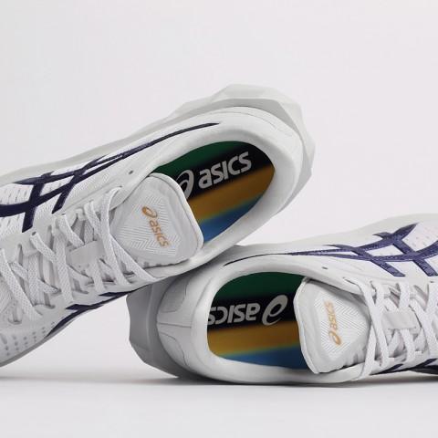 мужские белые  кроссовки asics novablast sps 1201A032-020 - цена, описание, фото 6
