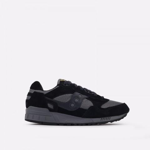 мужские черные, серые  кроссовки saucony shadow 5000 S7040431 - цена, описание, фото 1