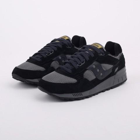 мужские черные, серые  кроссовки saucony shadow 5000 S7040431 - цена, описание, фото 2