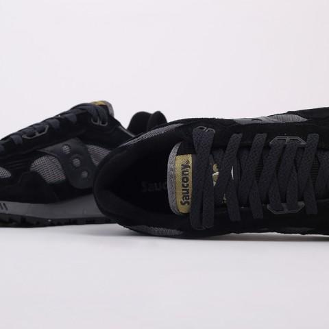 мужские черные, серые  кроссовки saucony shadow 5000 S7040431 - цена, описание, фото 5