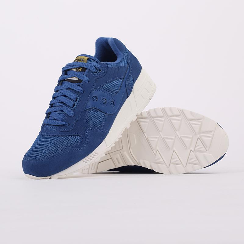 мужские синие  кроссовки saucony shadow 5000 S7040432 - цена, описание, фото 6