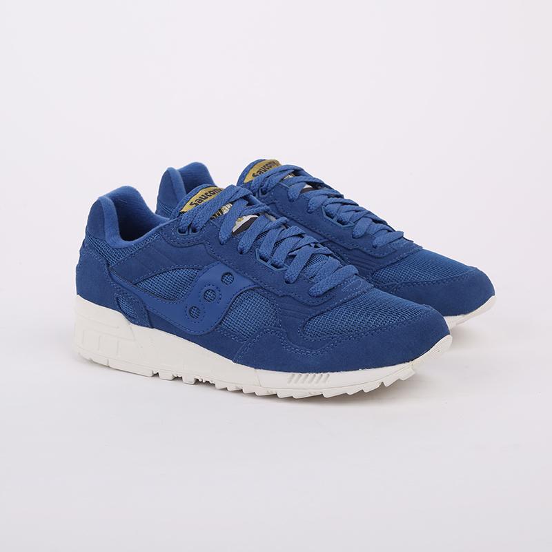 мужские синие  кроссовки saucony shadow 5000 S7040432 - цена, описание, фото 2
