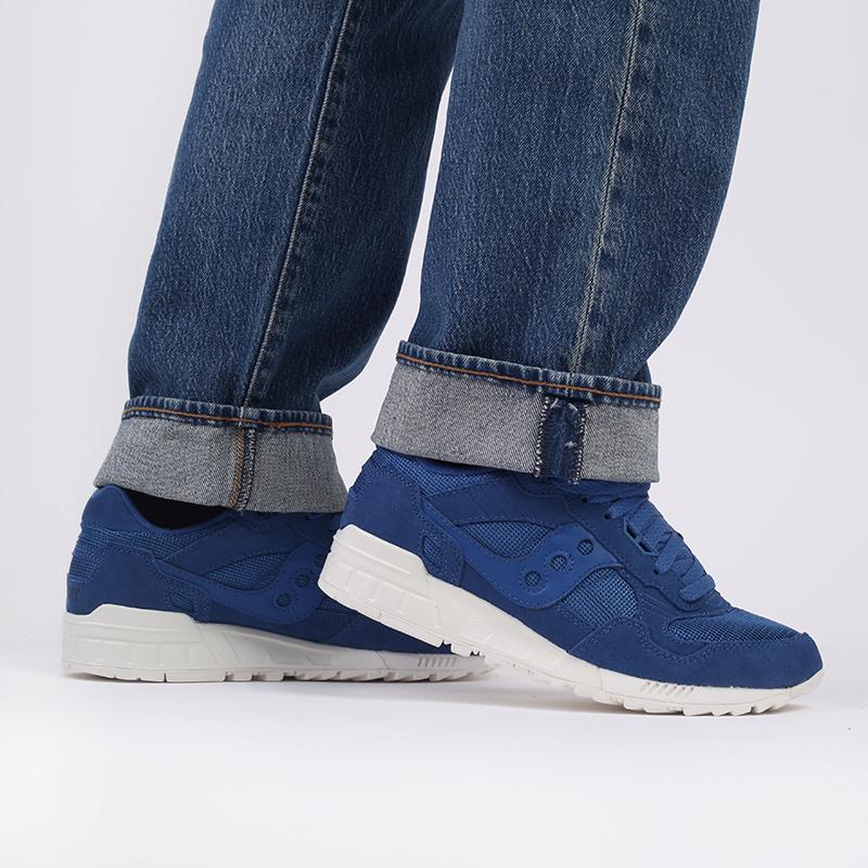 мужские синие  кроссовки saucony shadow 5000 S7040432 - цена, описание, фото 8