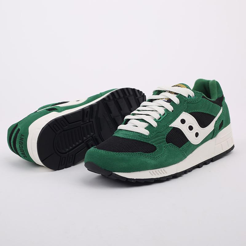 мужские зелёные  кроссовки saucony shadow 5000 S7040428 - цена, описание, фото 7