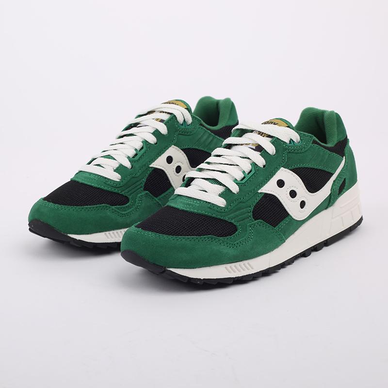 мужские зелёные  кроссовки saucony shadow 5000 S7040428 - цена, описание, фото 2