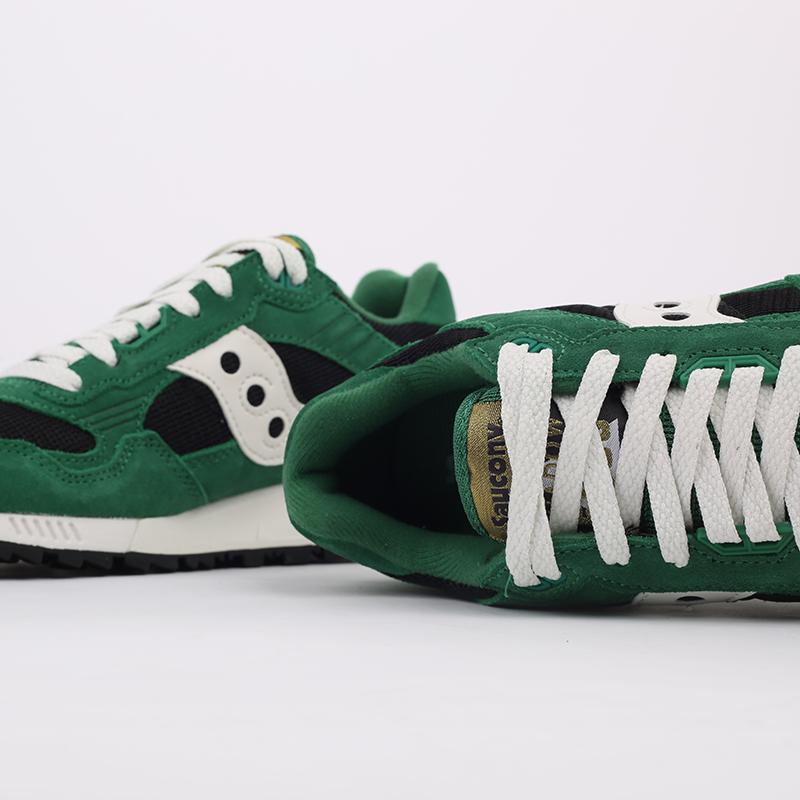 мужские зелёные  кроссовки saucony shadow 5000 S7040428 - цена, описание, фото 5