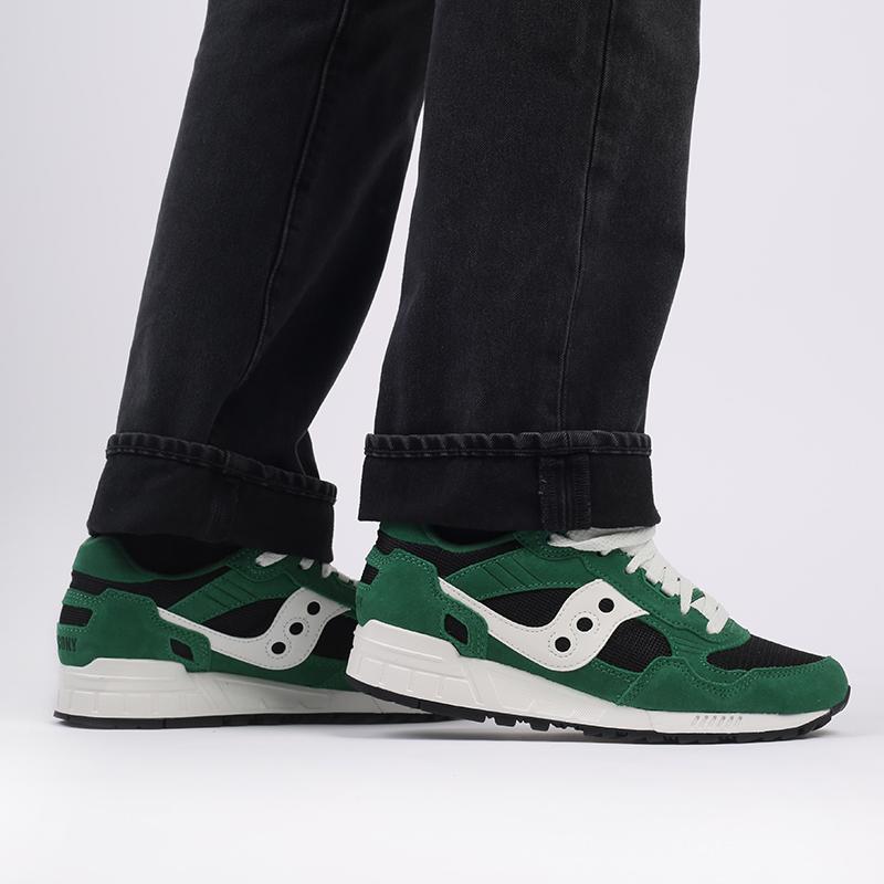 мужские зелёные  кроссовки saucony shadow 5000 S7040428 - цена, описание, фото 8