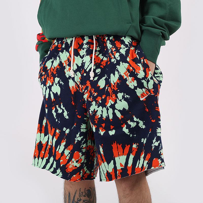 мужские разноцветные  шорты  jordan throwback shorts CQ9226-341 - цена, описание, фото 1